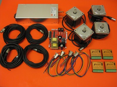4-Axis NEMA 34 DIY Electronics Kit