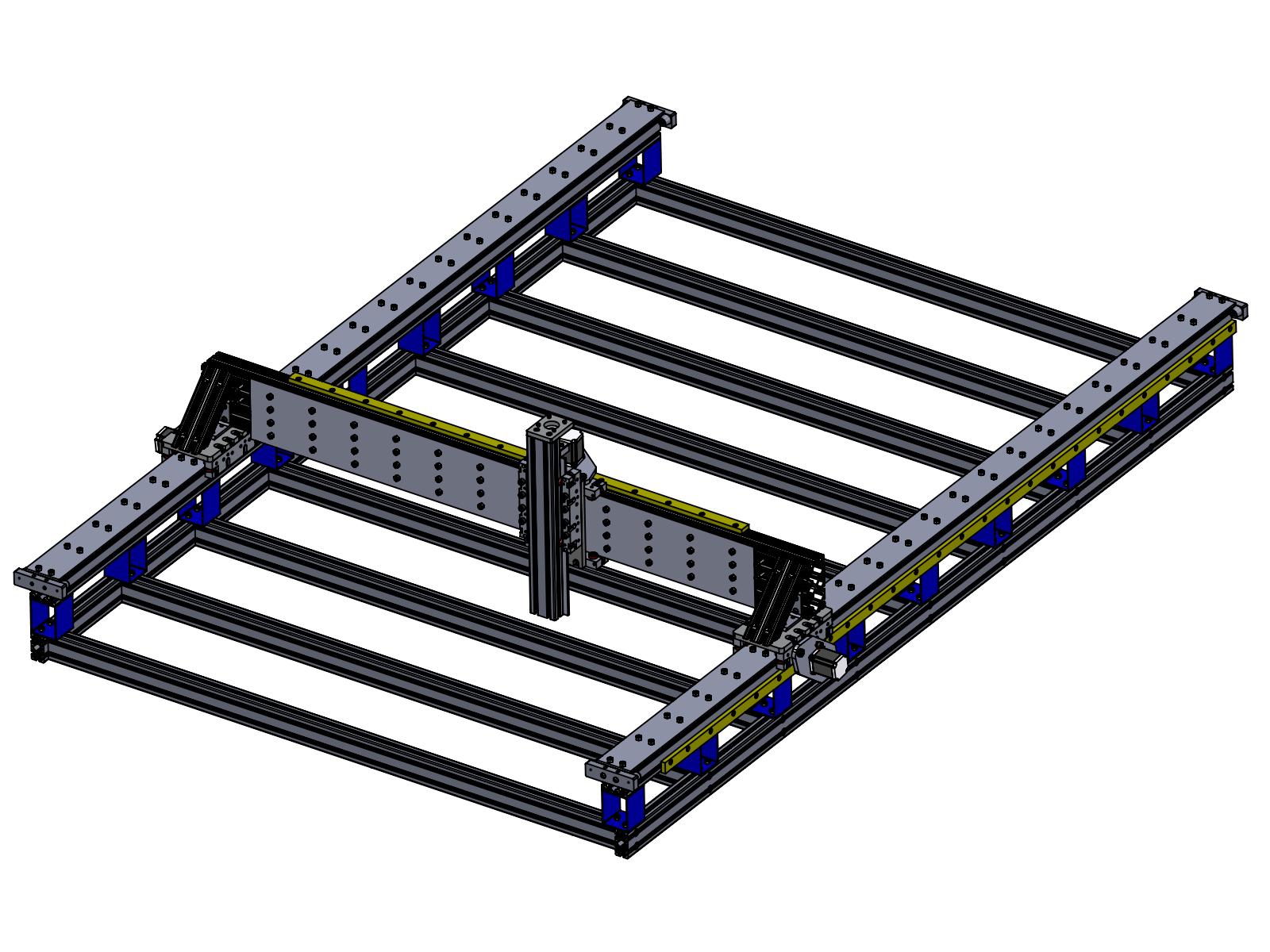 4 X 8 Cnc Router Fine Line Automation